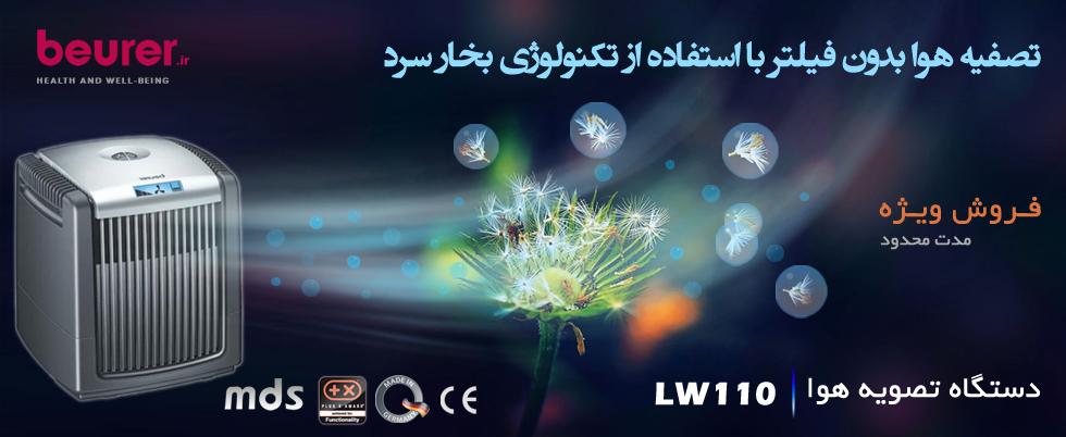 2- دستگاه تصفیه هوا مدلLW110
