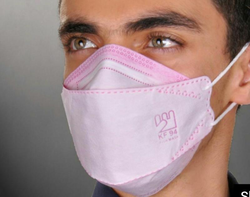 ماسک 50 عددی سه بعدی 3D-KF94 با پوشش کامل