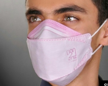 ماسک 25 عددی سه بعدی 3D-KF94 با پوشش کامل