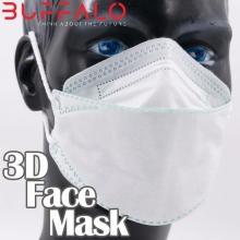 ماسک 25 عددی  سه بعدی BUFFALO با پوشش کامل بوفالو