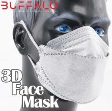ماسک 25 عددی سه بعدی آبی BUFFALO با پوشش کامل صورت بوفالو