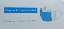 جعبه 50 عددی ماسک آبی وارداتی PROTECTIVE