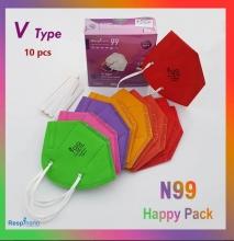 جعبه 10 عددی ماسک KN99-VTYPE هپی ریما