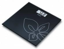 ترازوی شیشه ایGS27 BLACK FLOWER